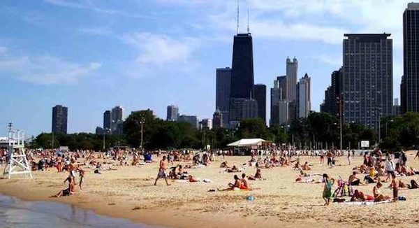 Chicago leads the way by offering free wifi at outdoor public venues, including beaches